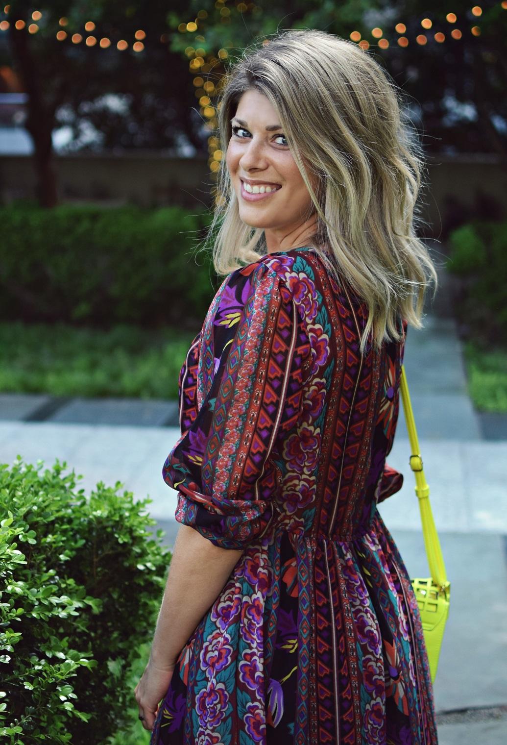 boho dress for a blogger meet up