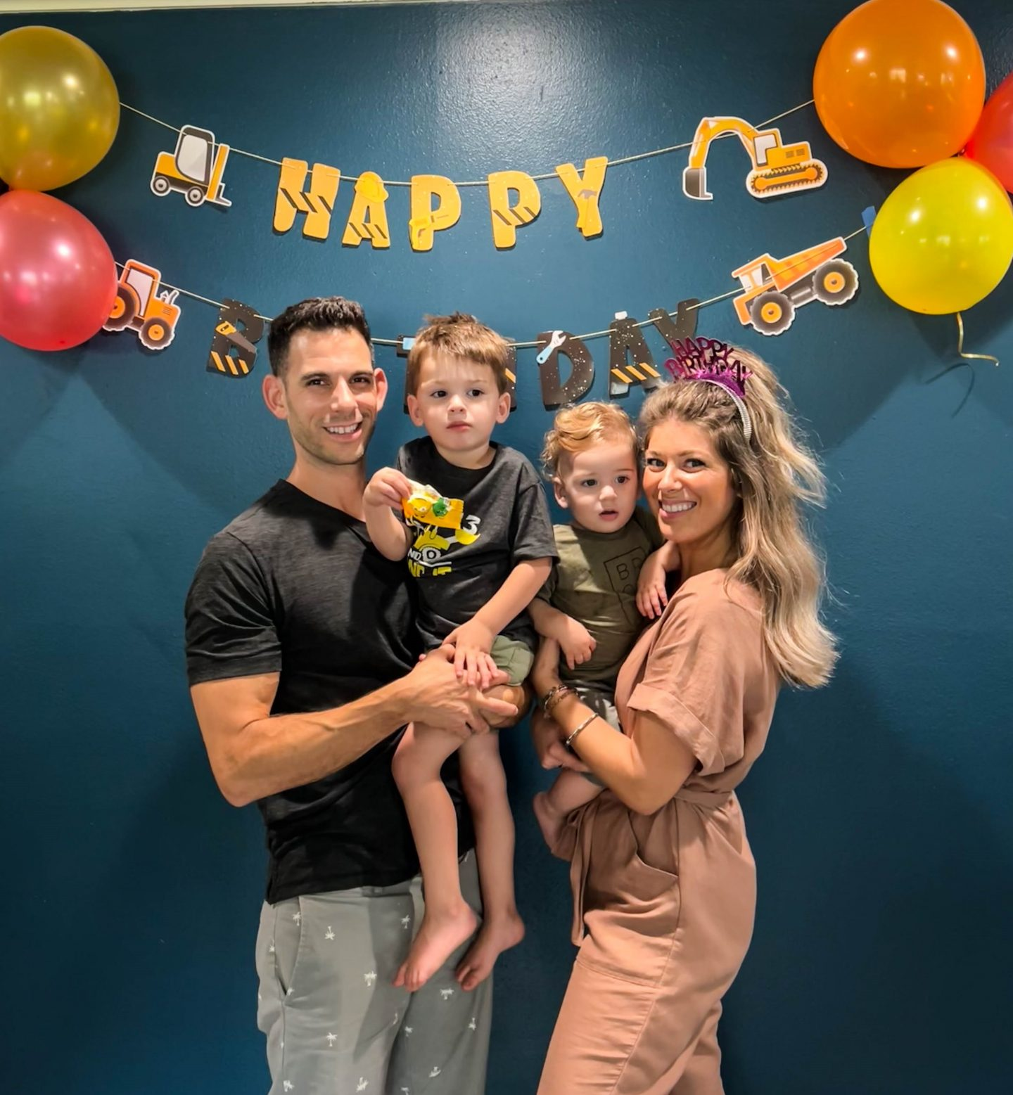 construction-themed birthday party for atlas!